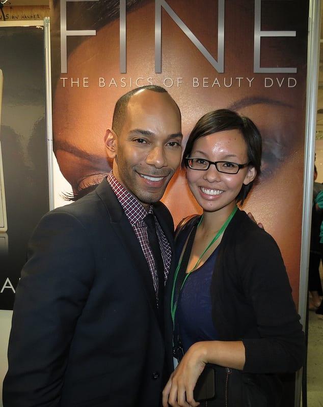 Sam Fine with Mai
