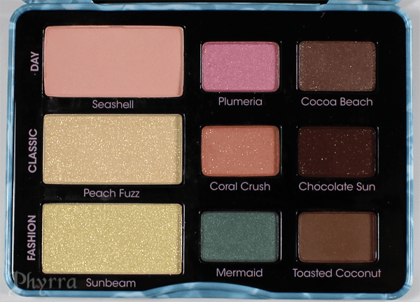 Too Faced Summer Eyes Shadow Palette Review and Swatches