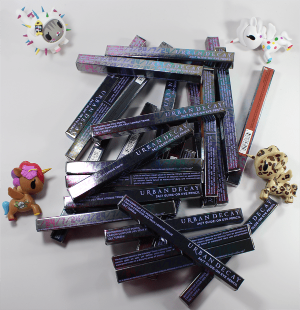 Urban Decay 24/7 Glide-On Eye Pencils Relaunch & New Shade Swatches