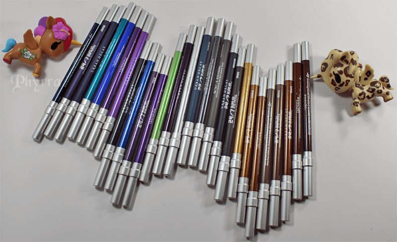 Urban Decay 24/7 Glide-On Eye Pencils Relaunch & New Shades Review