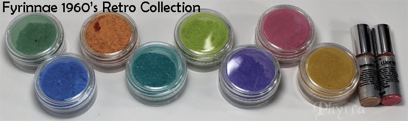 Fyrinnae 1960s Retro Collection Review and Swatches