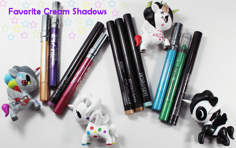 Makeup Wars Favorite Cream Eyeshadows Review and Swatches