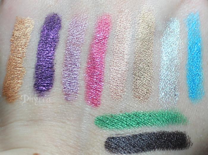 Makeup Wars Favorite Cream Eyeshadow Sticks Pencils Review Swatches