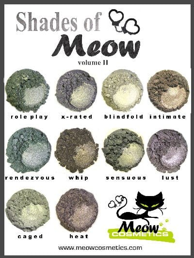 Meow Cosmetics Shades of Meow Vol. 2 Sneak Peek