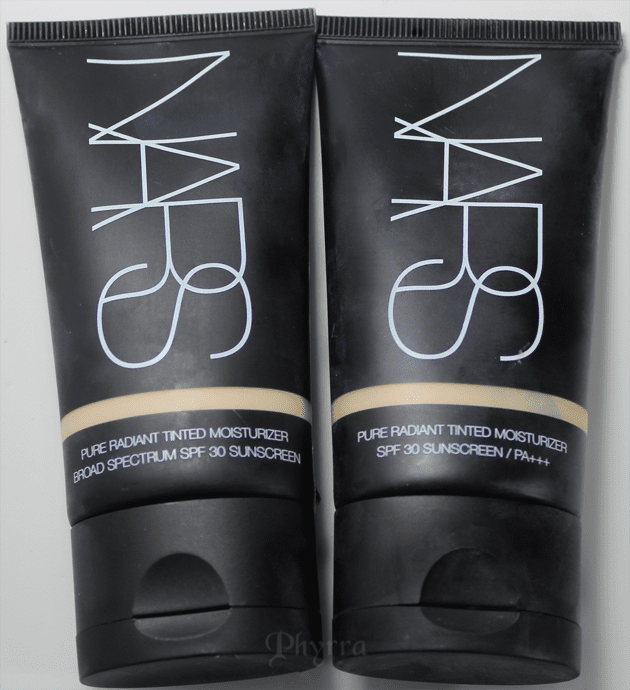 NARS Pure Radiant Tinted Moisturizer – Broad Spectrum SPF 30 in Terre Neuve and Finland - Review, Swatches & Comparison