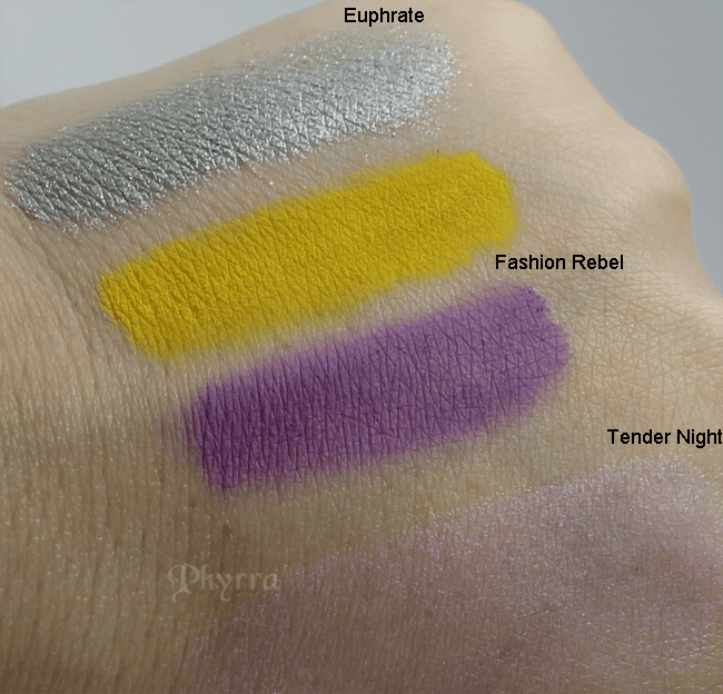 NARS Summer 2013 Swatches and Review