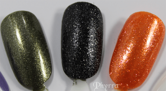 Obsessive Compulsive Cosmetics Ripley, Batty, Leeloo, Review and Swatches