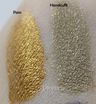 Meow, Pain, Handcuffs, Swatches, Review