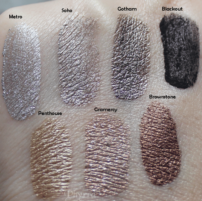 Silk Naturals, Metro, Soho, gotham, blackout, Penthouse, Gramercy, Brownstone, swatches, review