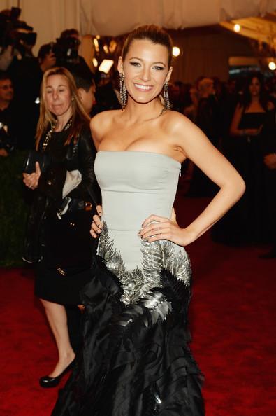 Blake Lively at the 2013 Met Ball Wearing NARS