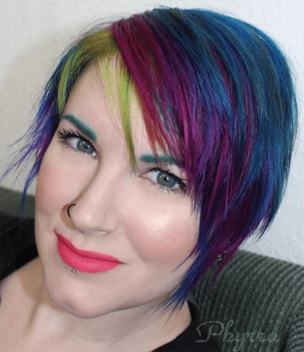 Kat Von D Everlasting Lipstick in Jeffree Bright Summer Look