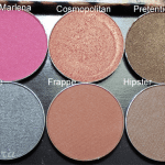 5 Beautiful New Shades from Makeup Geek Review and Swatches