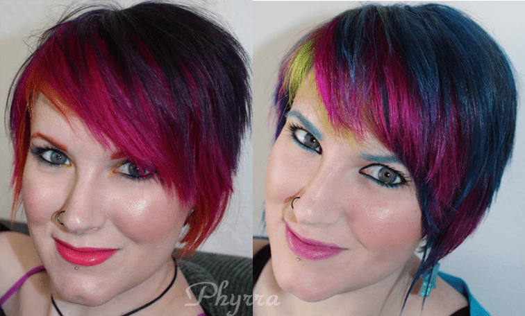 New May 2013 Phyrra Hair - Before and After