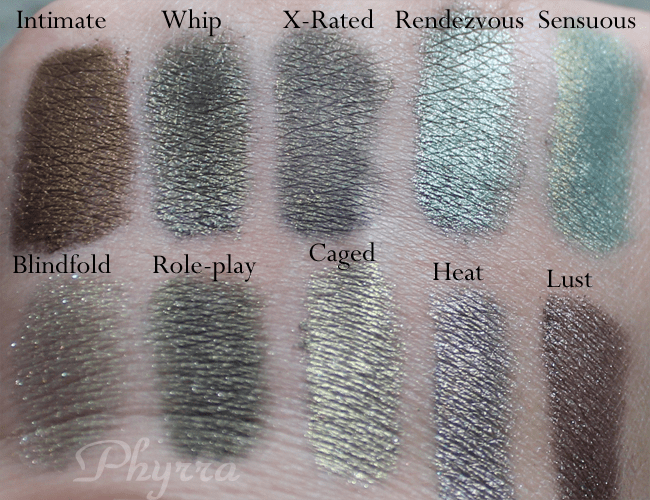 Meow Cosmetics Shades of Meow Volume2 Review and Swatches