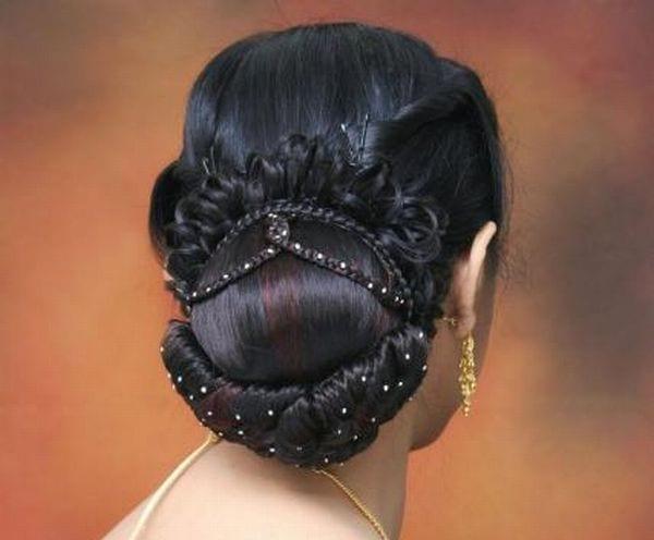 Indian Bun Hairstyle