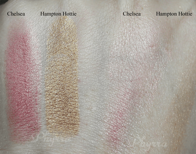 Silk Naturals Chelsie, Hampton Hottie, Swatches, Review