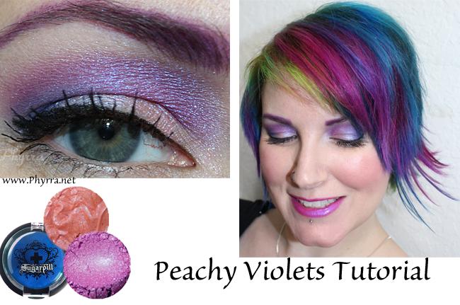 Darling Girl Peachy Violets Tutorial