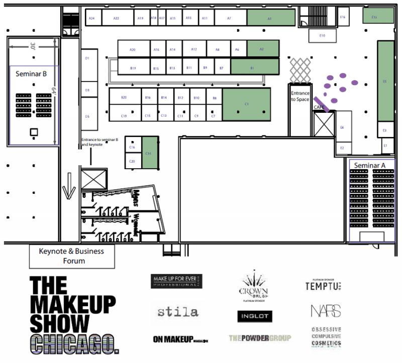 Chicago 2013 Floor Plan
