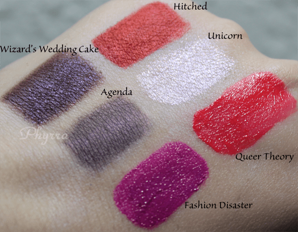 Fyrinnae Pride 2013 Swatches and Review