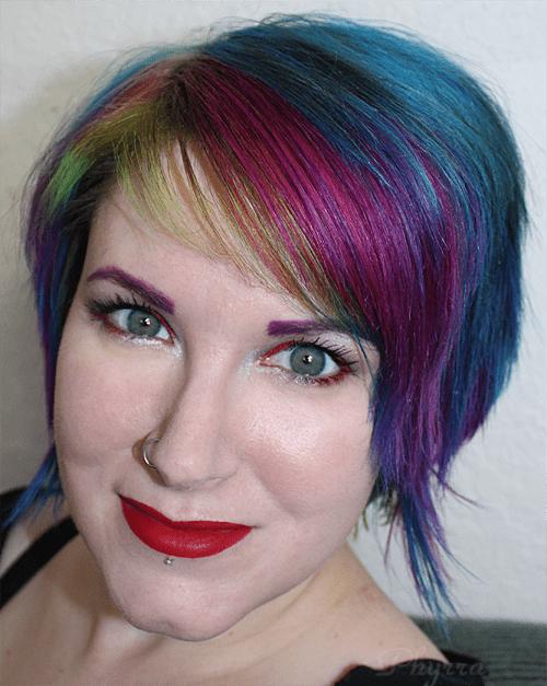 Wearing Kat Von D Everlasting Love Liquid Lipstick in Outlaw