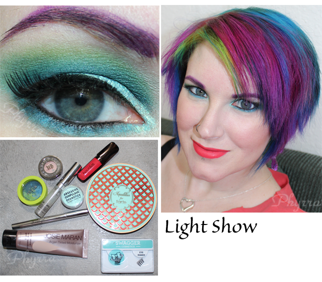 Stila Countless Color Pigments Light Show Tutorial