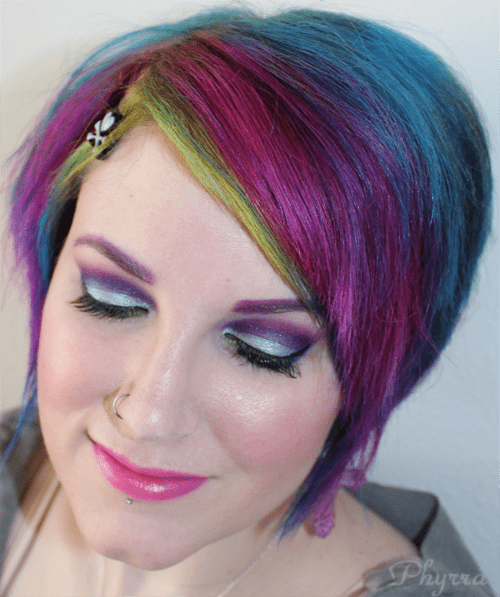 My Birthday Makeup with Sugarpill and OCC Makeup