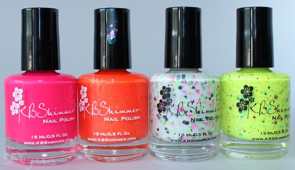 KB Shimmer Summer 2013 Collection