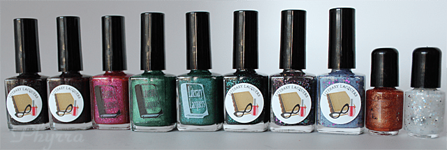 Literary Lacquers Nail Polishes