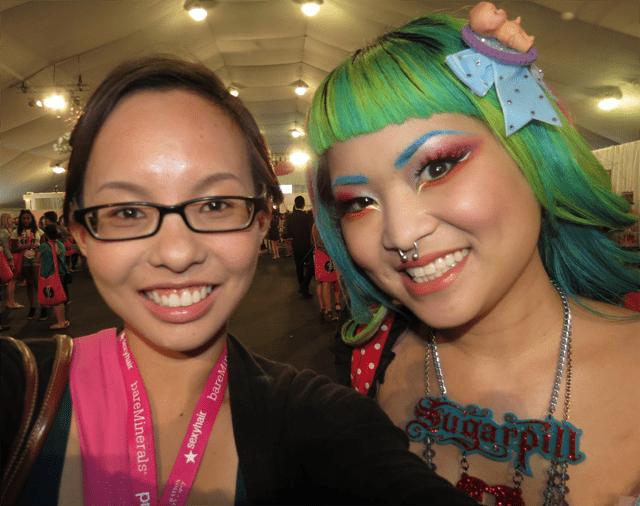 Mai and Amy of Sugarpill at Generation Beauty