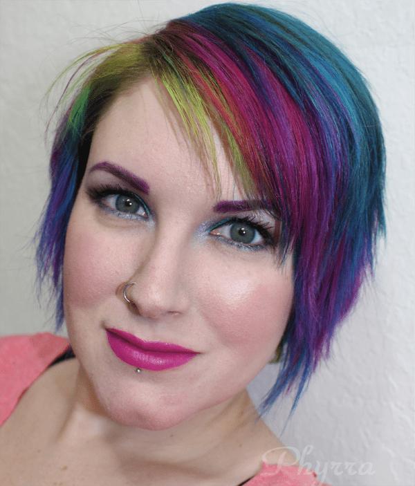 Fyrinnae and Makeup Geek Teal and Brown Tutorial