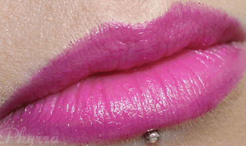 Stila After Glow Lip Colors in Electric Pink and Vivid Violet