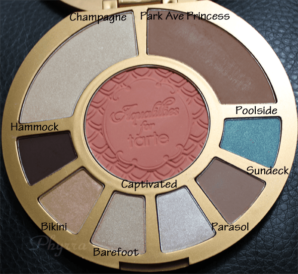 Aqualillies for Tarte Amazonian Clay Waterproof Eye & Cheek Palette