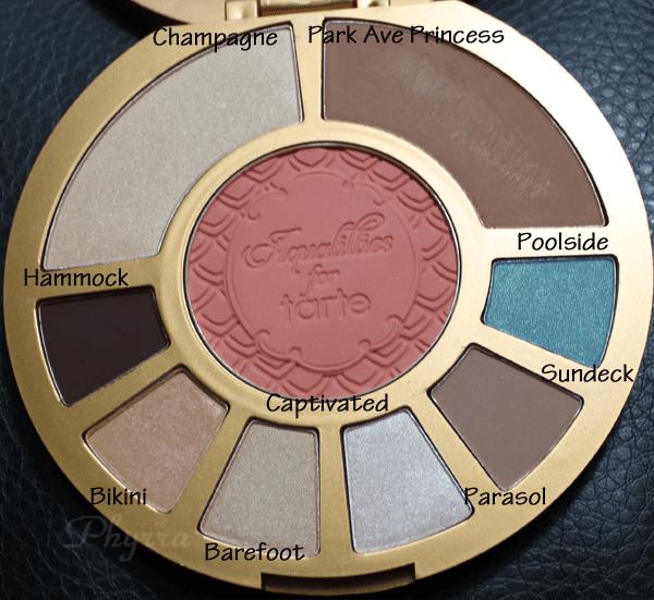 Aqualillies for Tarte Amazonian Clay Waterproof Eye & Cheek Palette