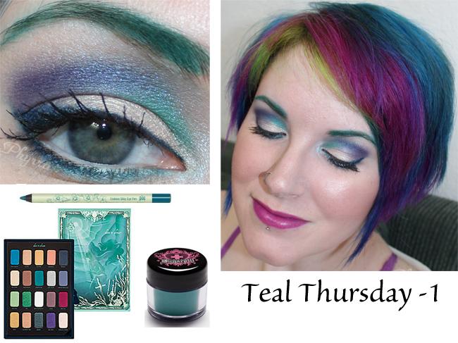 Teal Thursday with Sephora Disney Ariel Storylook Palette