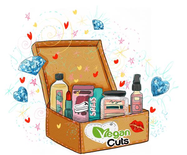New Vegan Cuts Beauty Box