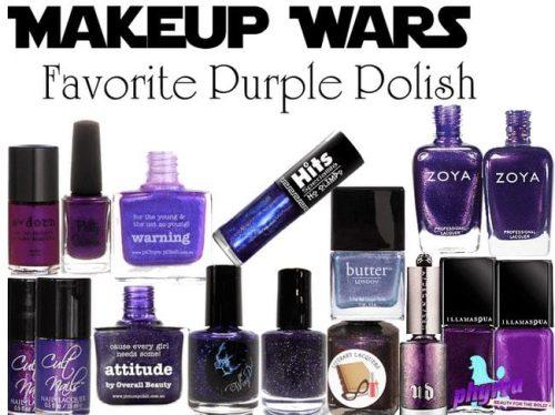 Makeup Wars Favorite Purple Nail Polish
