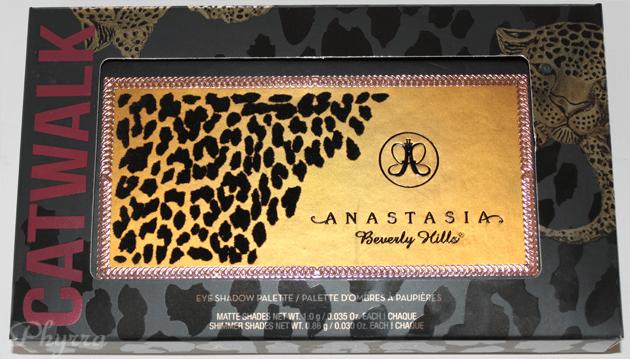 Anastasia Catwalk Packaging