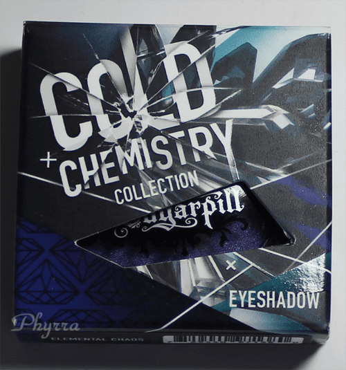 Sugarpill Cold Chemistry Elemental Chaos Packaging