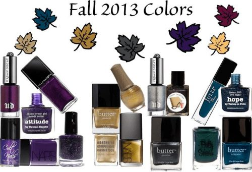 Fall 2013 Colors