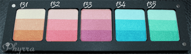 Inglot Satin Rainbow Eyeshadow Palette