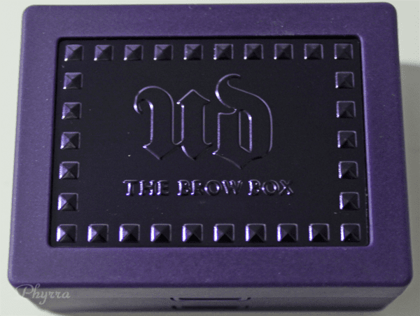 Urban Decay Perfect Brow Box Review Brown Sugar and Honey Pot Review