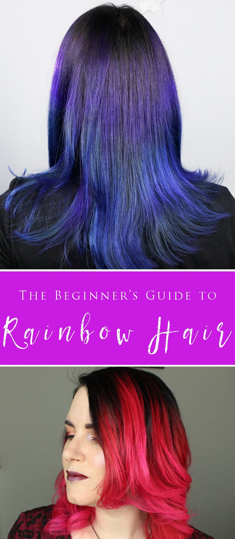 The Beginners Guide To Brightly Colored Hair Cruelty Free