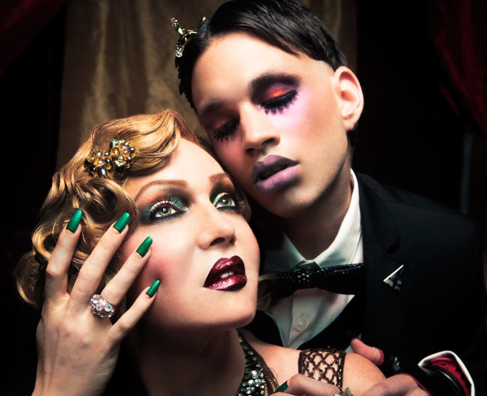 OCC Makeup Moderncraft - Inspired by Cabaret for Fall 2013