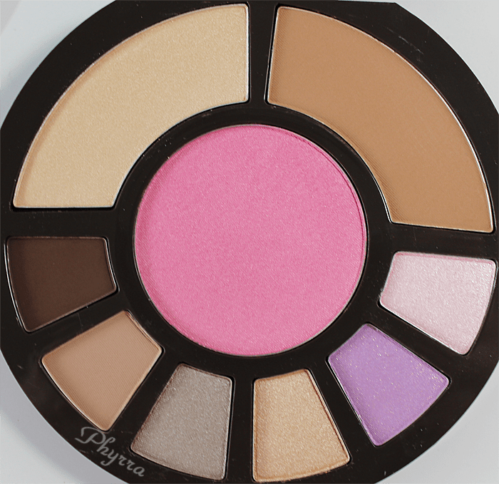tarte Coral Crush Palette eyeshadows, blush, bronzer, highlighter