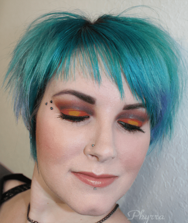 Wearing Sugarpill, tarte for Aqualillies and Hourglass Stylo