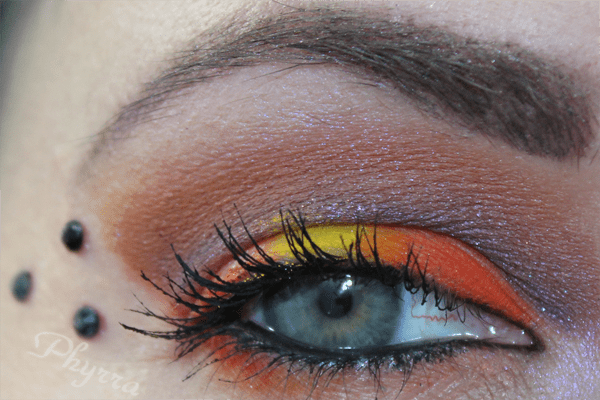 Sugarpill Flamepoint and bareMinerals Autumn Leaf