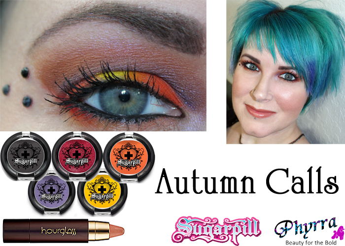 Sugarpill Orange Purple Yellow tutorial