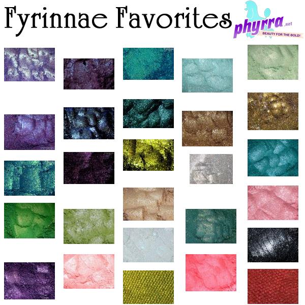 Fyrinnae Favorites from Phyrra
