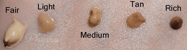 It Cosmetics CC Cream, Fair, Light, Medium, Tan, Rich, Swatches and Review