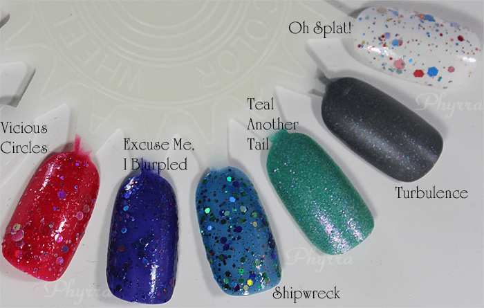 KBShimmer Fall 2013 Collection, Swatches, Review